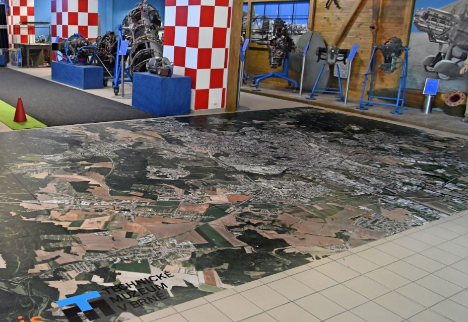 Giant Map of Brno