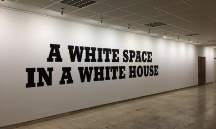 A White Space In A White House